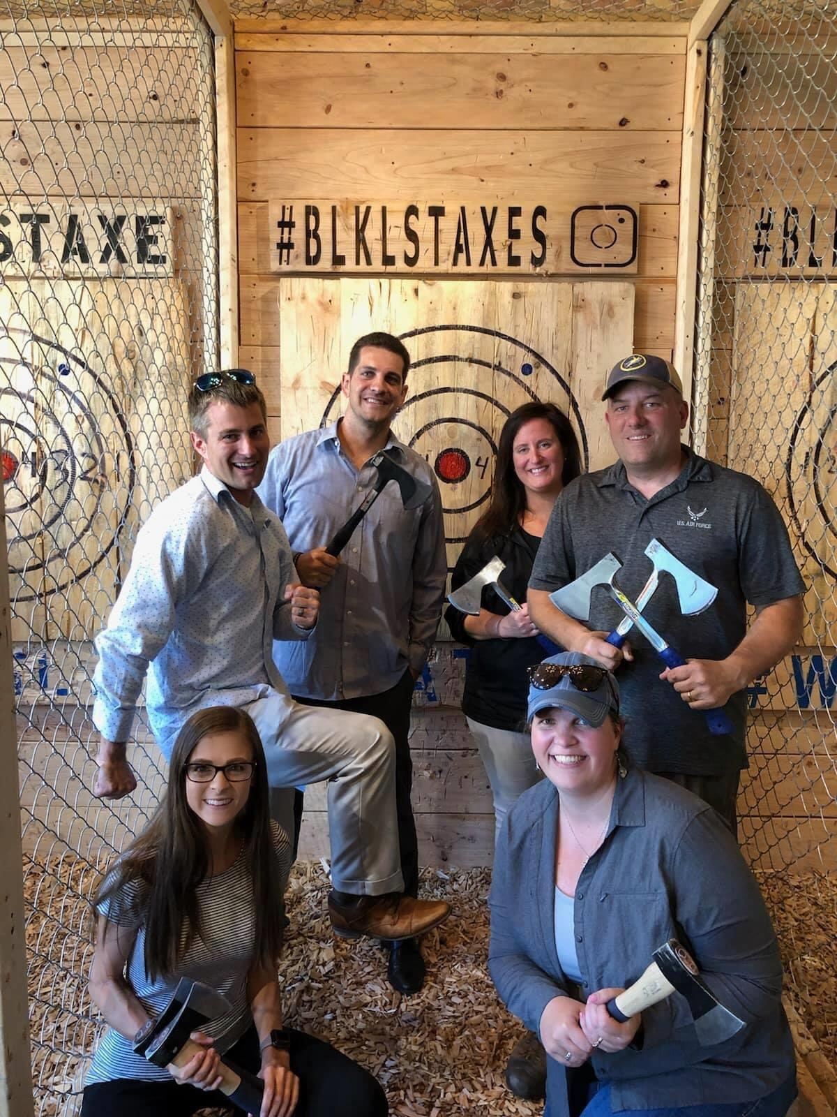 Ax Throwing @ Blacklist Brewing Co