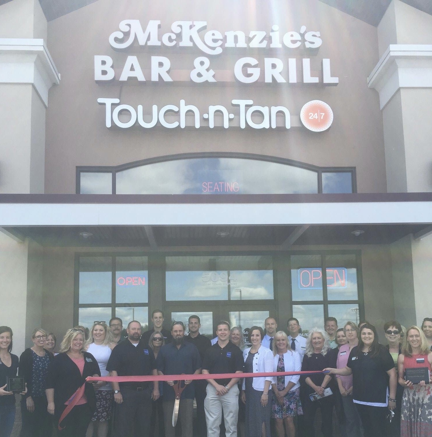 Reopening of McKenzie's Bar & Grill