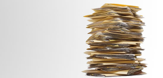 Which insurance polic is right for me paper stack