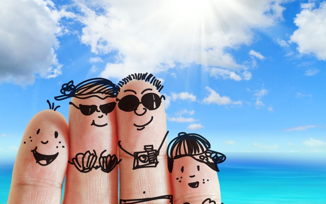Family vacation Fingers Insurance
