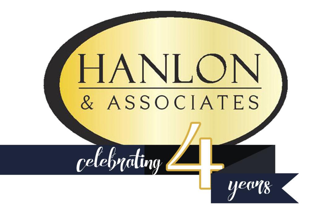 4 Four Year Anniversary Hanlon and Associates